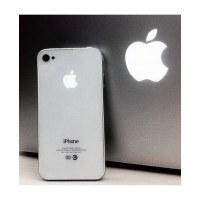 Iphone 4 Carcasa trasera iluminada Blanca