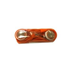 Auriculares + mando Naranja