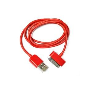 Cargador USB para Iphone Rojo