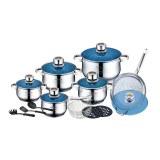 Roylty Line RL-1801B; Juego de utensilios de cocina de acero inoxidable 18 piezas