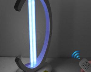 Lámpara esterilizadora de cuarzo UV-C de 38W, con producción de Ozono