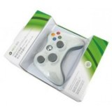 Mando Xbox 360 Slim sin cable Blanco